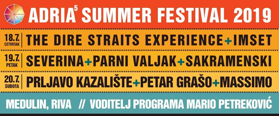 Adria Summer Festival 2019 festival ticket