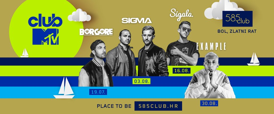 Sigala at 585 club - Club MTV
