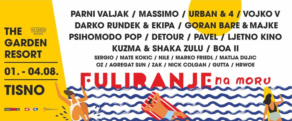 Fuliranje - festival ticket