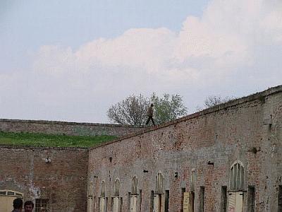 Dvorište Kazamat