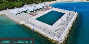 Bazen Ilirija - Aquatic Beach Club -  Biograd